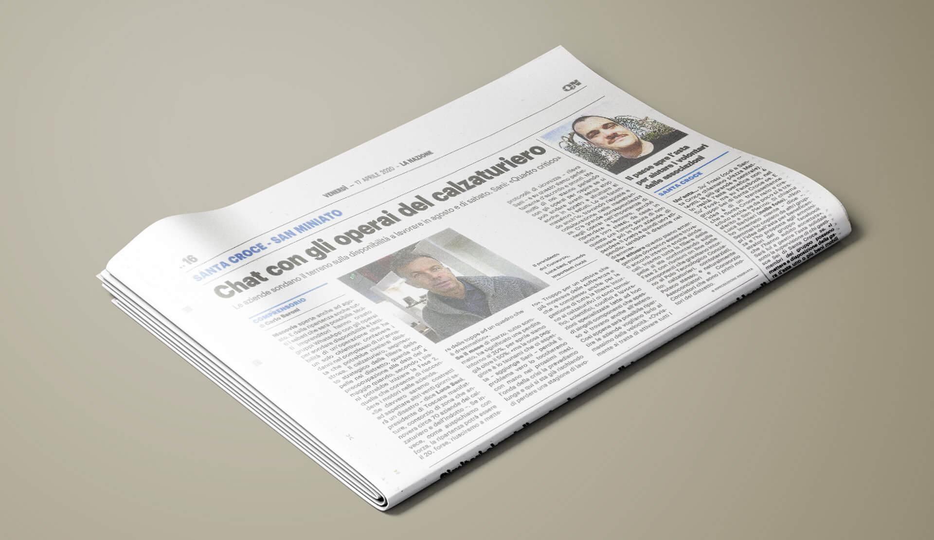 CTM news La Nazione 17-04-2020